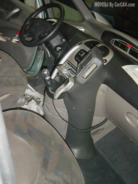 客户毕加索2.0汽车音响改装 gps系统高清图片
