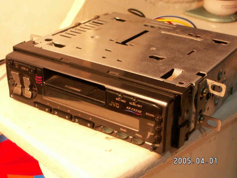 JVC KS FX230 CD机线路应该怎么接 汽车影音网论坛 汽车音响改装升高清图片