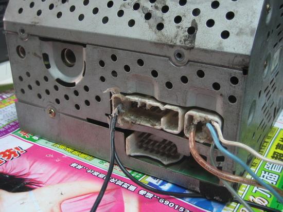 出一个,丰田车上的cd音响主机,高清图片