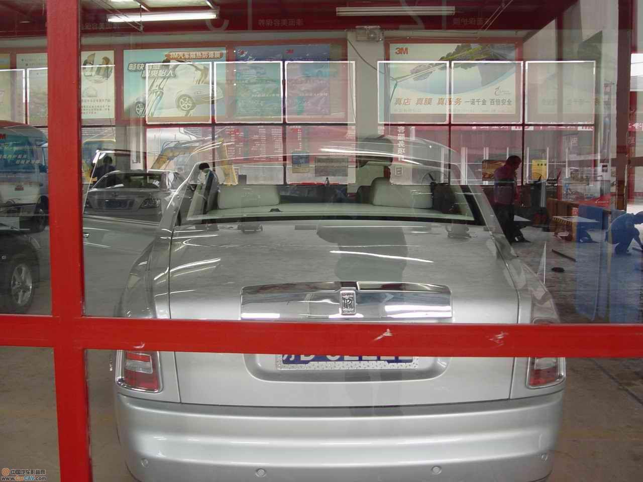 劳斯莱斯 汽车贴膜高清图片
