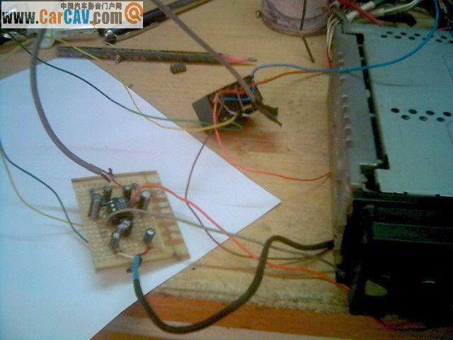 diy的乐趣 松下的老机dp33增加缓冲放大级以达到改变音质试高清图片