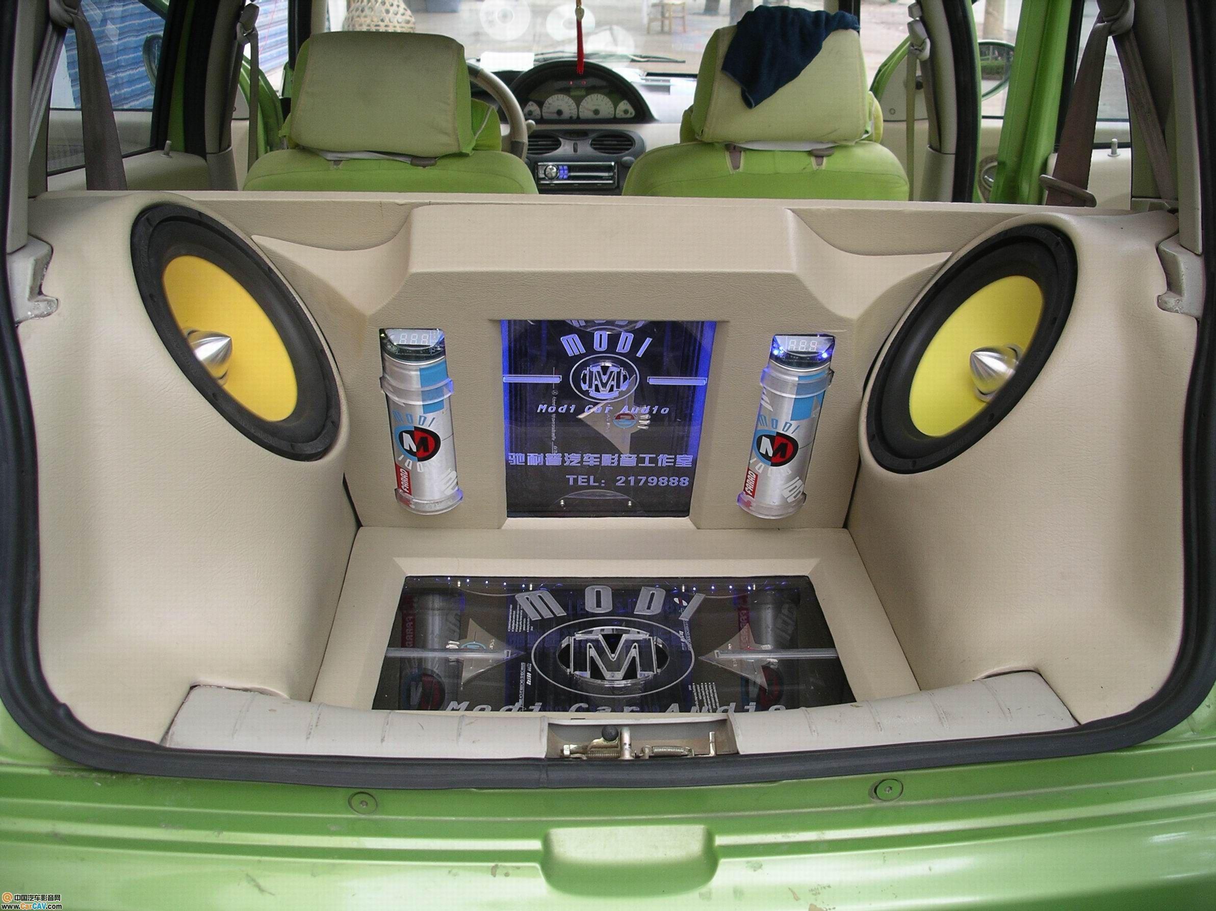 桂林驰耐汽车音响 哈飞路宝 之音响 改装 案例欣高清图片