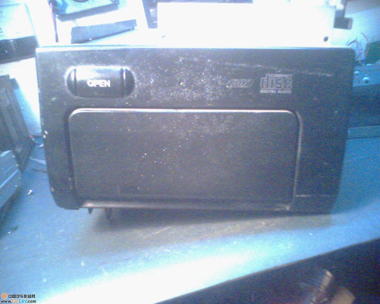 凌志6碟CD,CDX M9751怎么接线 音响维修 汽车影音网论坛 汽车音响高清图片