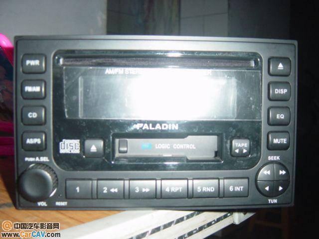 出售郑州日产帕拉丁原装cd