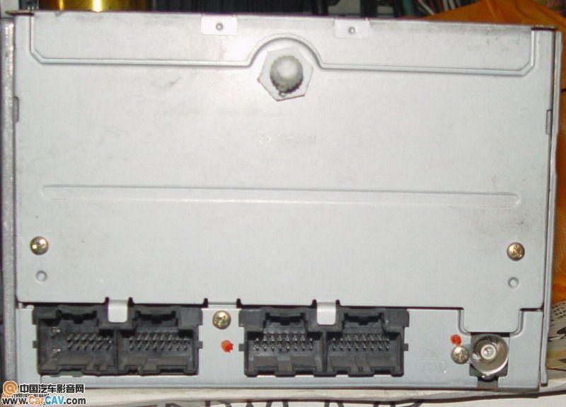 这里都求不到接线图就只有把它拆了 音响维修 汽车影音网论坛 汽车音高清图片