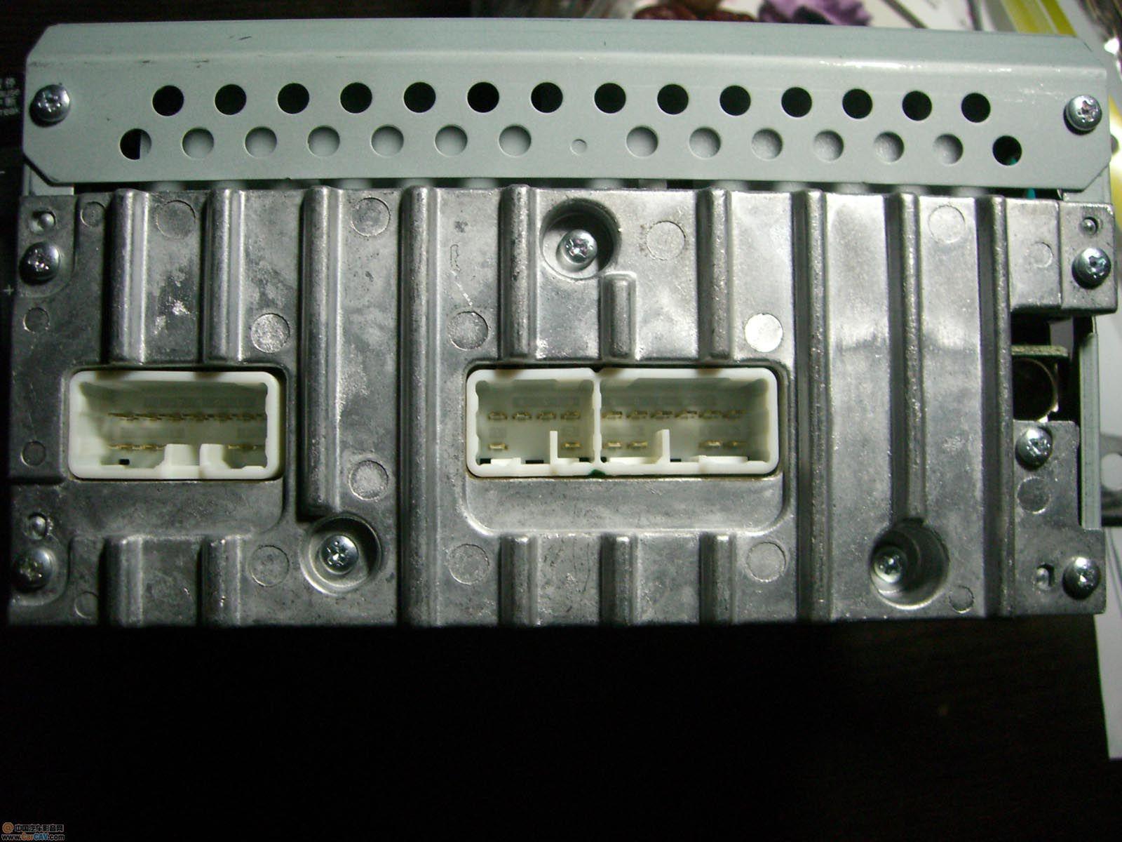 求丰田17809主机接线图 音响维修高清图片