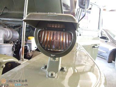 云南昆明音乐前线吉普2020音响改装古董车型小小改5.1高清图片