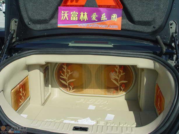 [别克Buick]北京沃富林别克君越汽车音响改装农展馆展示车-北京沃富