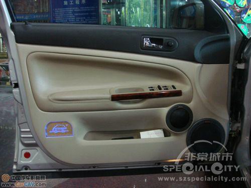 深圳非常城市大众帕萨特超酷音响改装案例高清图片