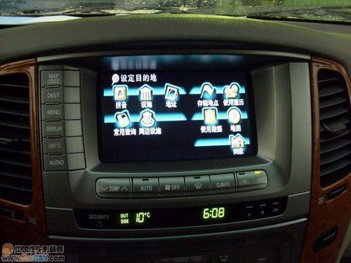 丰田4700加中文导航怎么接线高清图片