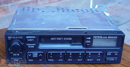 求助丰田A11708接线图和功放接线图 音响维修高清图片