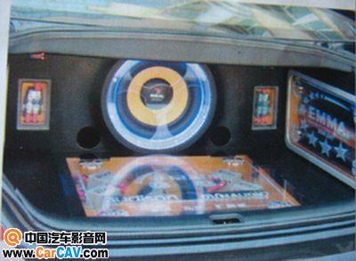 九江汇港城日产天籁汽车音响改装之最高清图片