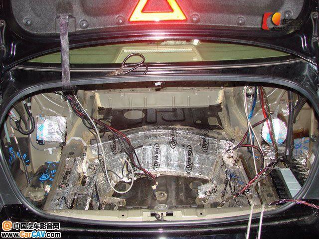 台州车之家 丰田皇冠汽车音响改装 SQ SPL 音质 音压高清图片