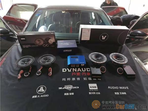 青岛丰慧大众帕萨特汽车音响改装丹拿 最大的特色就是没有特色