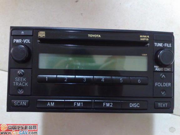 求购丰田威驰CD带MP3功能高清图片