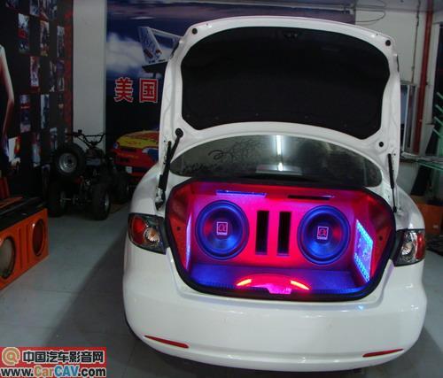 重庆金标马自达m6汽车音响改装 音响升级高清图片