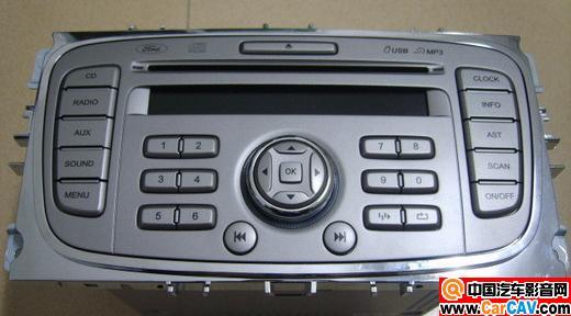 出一台福特福克斯09款原装cd机单碟高清图片