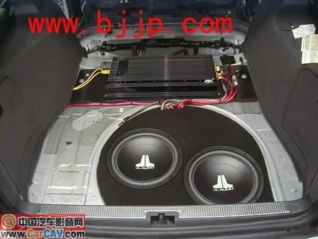 JL 捷力 12寸双音圈l喇叭 汽车低音喇叭 低音炮 无损安装高清图片