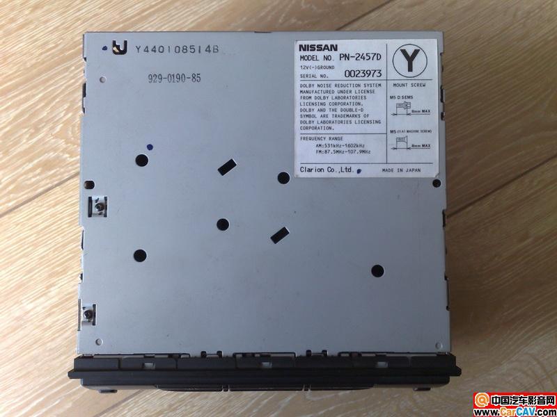 这个日产前置六碟CD如何接线 音响维修 汽车影音网论坛 汽车音响改高清图片