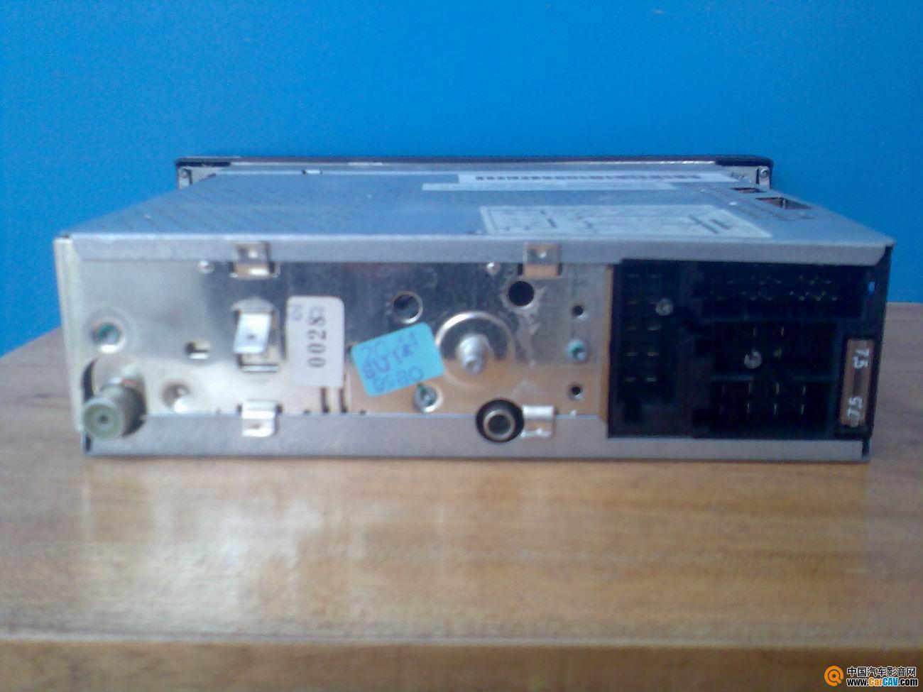 广州市永福路出奔驰标准位卡带机 单碟双数带光纤CD机 德...