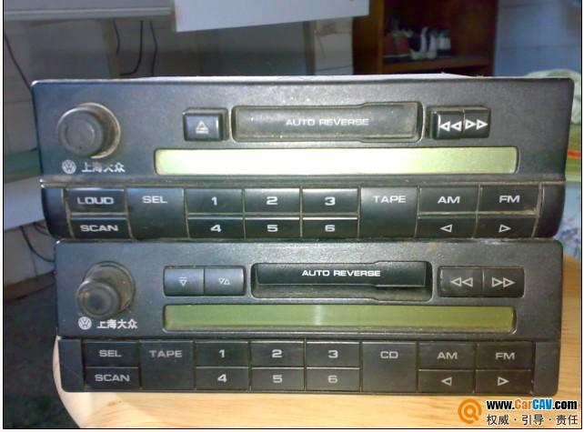 大众西门子套机 加两个大众卡带再加vdo的乐风cd高清图片