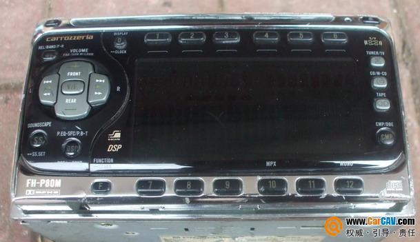 ,松下电动面板cd机 汽车影音网论坛 汽车音响改装升级 汽车导航论高清图片