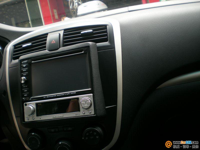 海马普力马装先锋CD机改装效果图高清图片