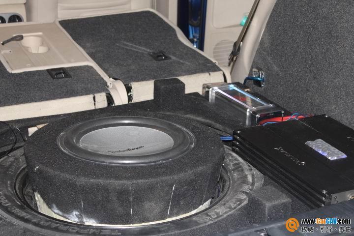 上海音豪 大众途观改装升级CD和后备箱倒模 3 CarCAV中国汽车影音高清图片