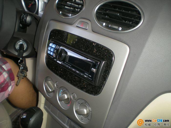 佛山酷车旋律汽车音响 福特福克斯音响改装阿尔派CD机高清图片