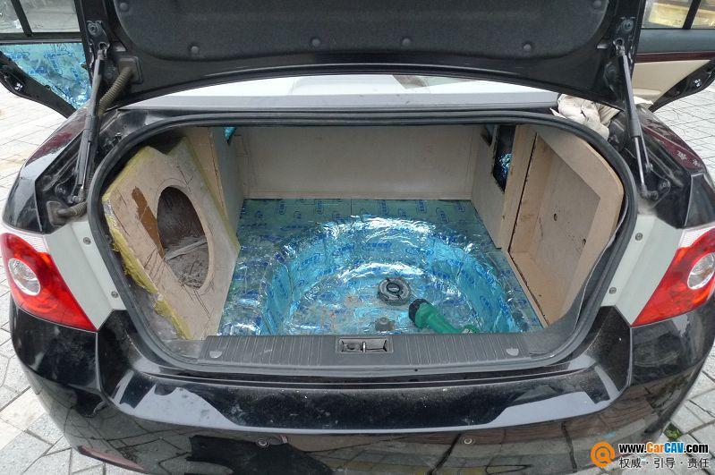 成都金邦 雪佛兰景程汽车音响改装洛克案例分享 3高清图片