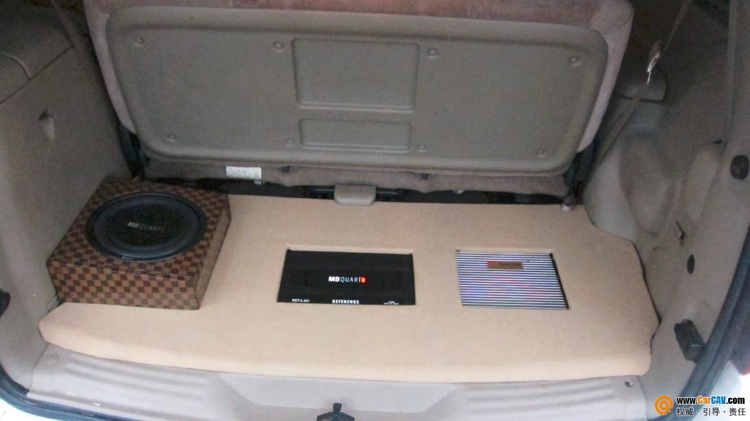 烟台华日汽车音响 别克GL8双低音震撼登场 6高清图片