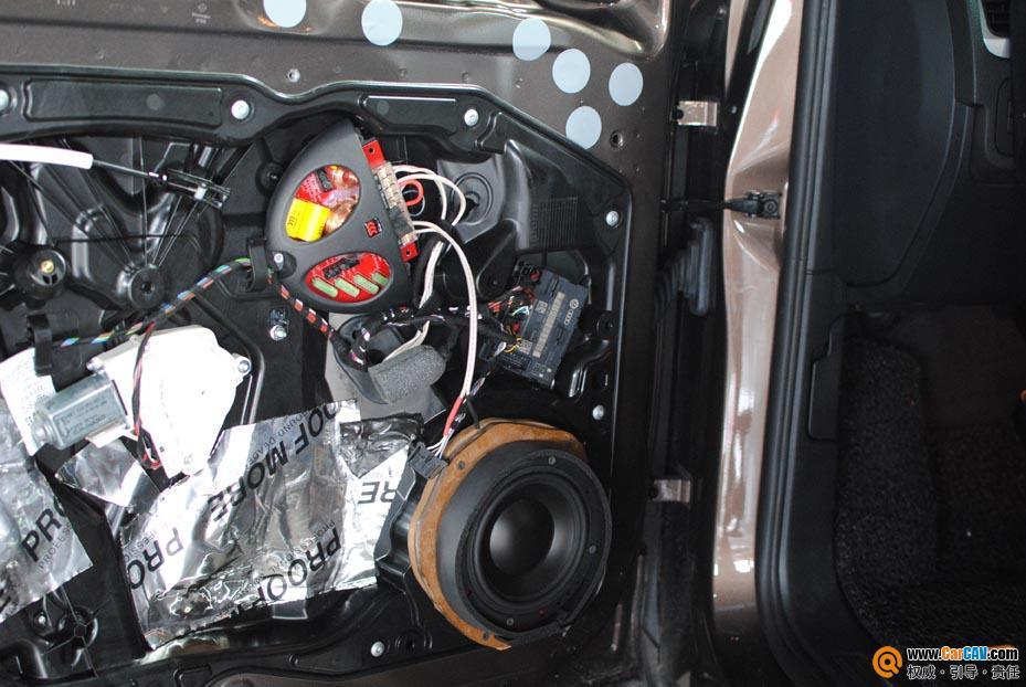 宁波道声 新途锐汽车音响改装升级摩雷 2高清图片