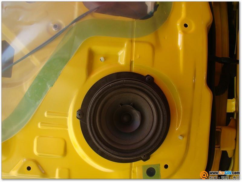i35影音车饰雪佛兰新赛欧汽车音响简单升级阿尔派 霸克 3高清图片