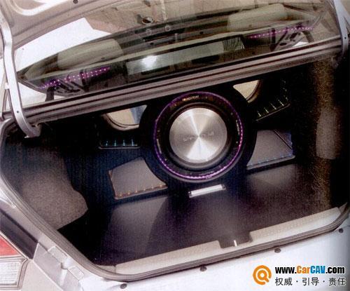 上海车之宝 东南V3菱悦汽车音响改装魔立方3D系统测评高清图片