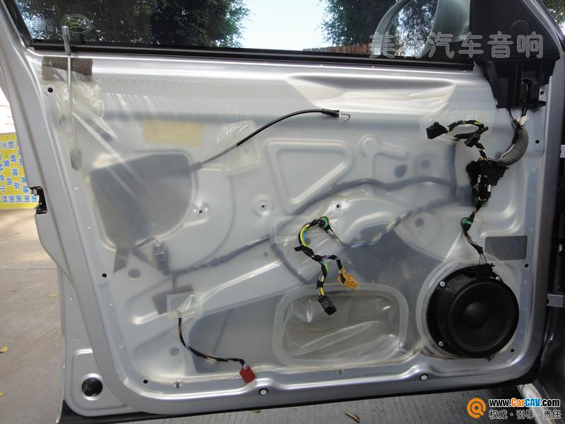 崇州美特汽车音响 大众朗逸汽车音响改装升级霸克 2高清图片