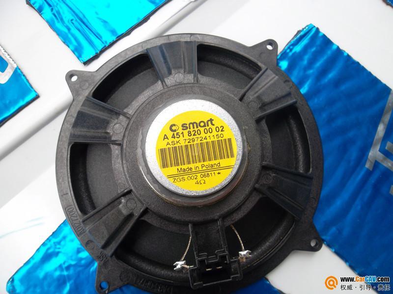 武汉沃尔卡 斯玛特汽车音响改装升级雷贝琴p6a二分频扬声高清图片