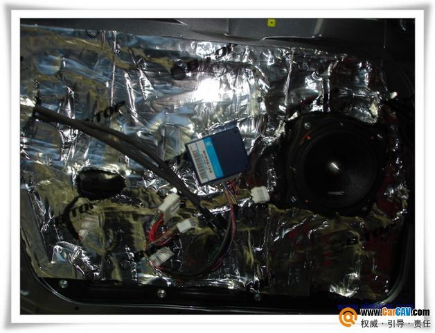 索纳塔8代音响初步升级改装案例 平湖汽车 平湖论坛 平湖高清图片