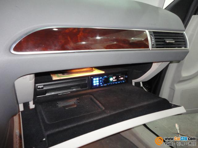 道声汽车音响 奥迪A6L音响改装升级摩雷高清图片