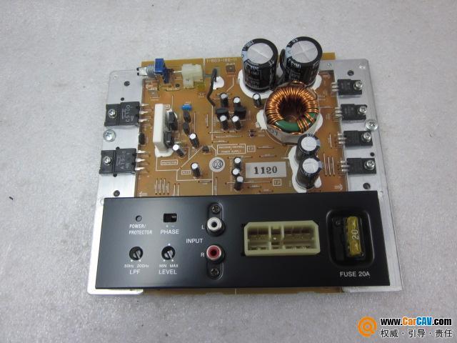 索尼低音炮功放板,单声道,全新货,5块600元起发货、接线很简