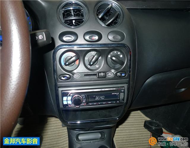 成都金邦汽车音响 雪佛兰乐驰spark汽车音响改装升级阿尔派高清图片