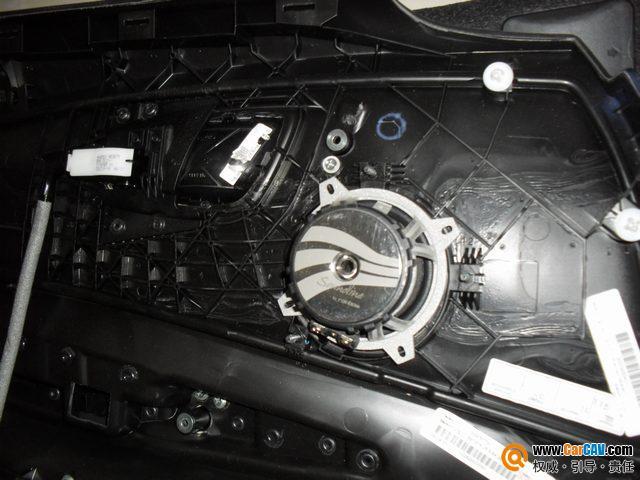 武汉港声汽车音响 宝马120i汽车音响改装升级德国彩虹 来福高清图片