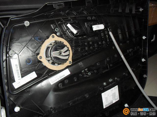 武汉港声汽车音响 宝马120i汽车音响改装升级德国彩虹 来福 3高清图片