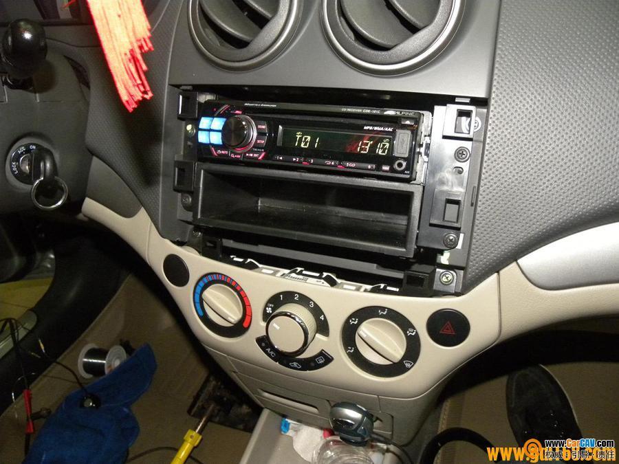 南昌先驱汽车音响 雪佛兰乐风汽车音响改装升级DLS高清图片