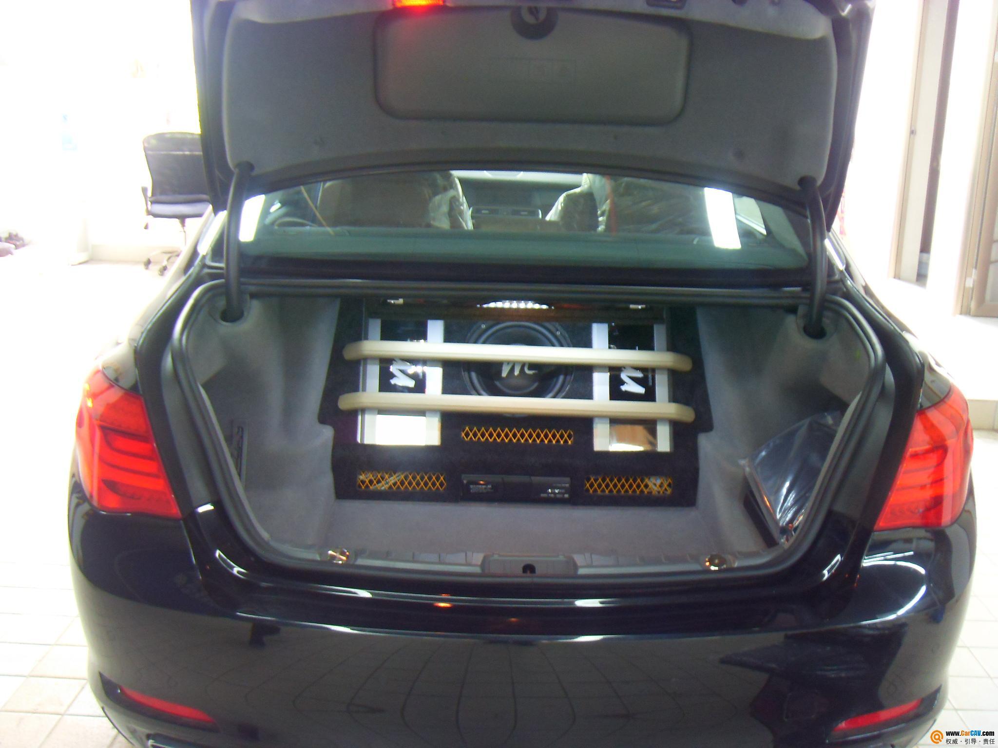 广州车元素汽车音响 宝马740汽车音响改装升级DTS5.1 4高清图片