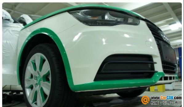 上海车之宝汽车音响 奥迪A1小精灵音响改装路畅 9高清图片