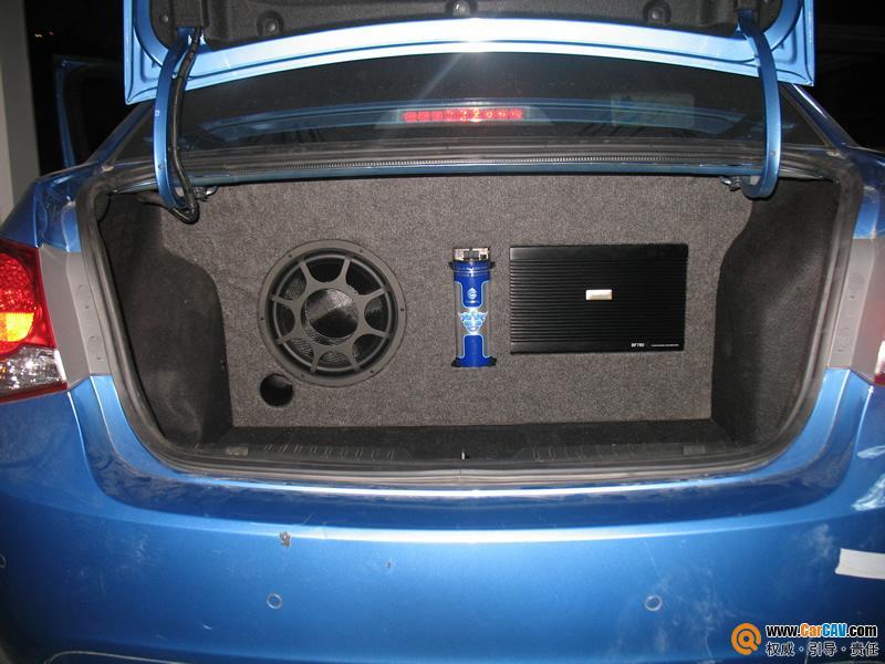 珠海惠声汽车音响 雪佛兰科鲁兹汽车音响改装摩雷玛仕舞高清图片