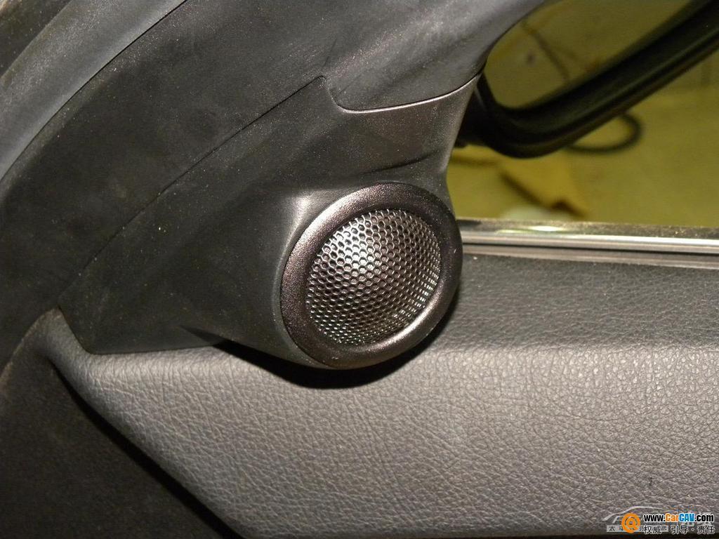 江西先驱汽车音响宝马523汽车音响改装升级意大利TEC音响高清图片