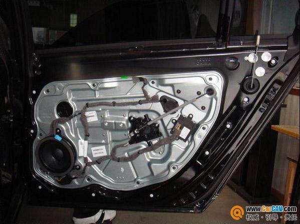 沃尔沃S80汽车音响改装升级意大利TEC