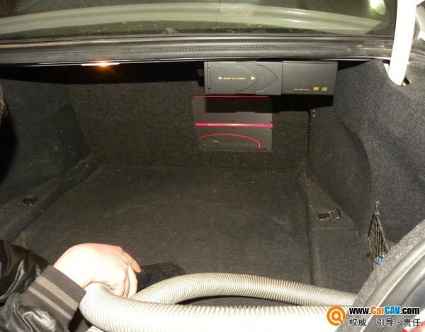 江西南昌先驱汽车音响宝马530li音响改装升级TEC案例高清图片