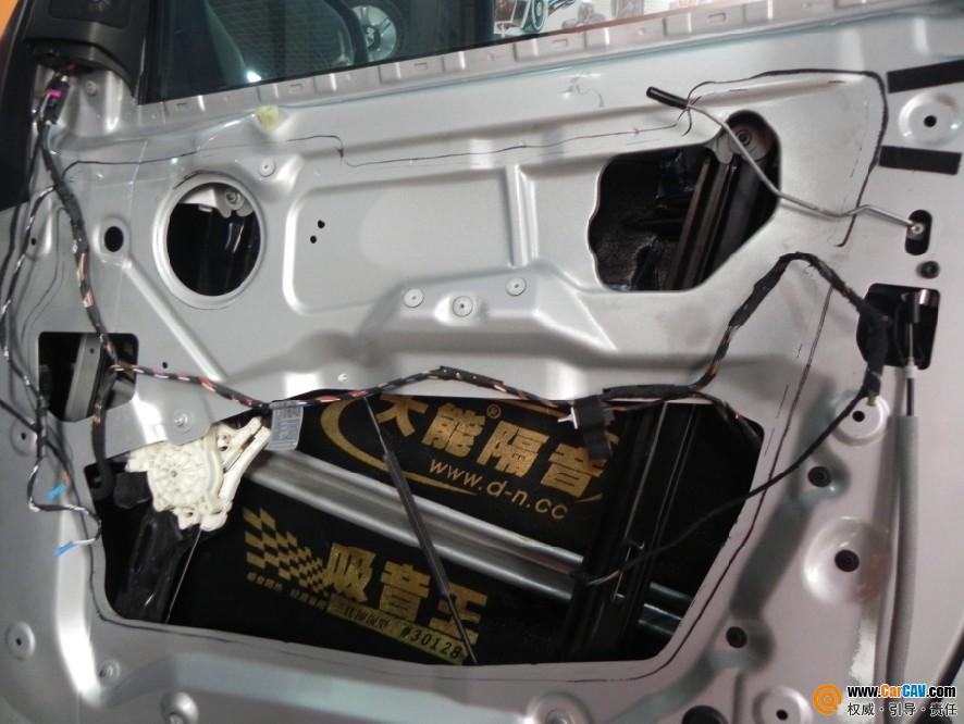 河南安阳老范汽车音响 宝马X5音响改装意大利欧迪臣 2高清图片